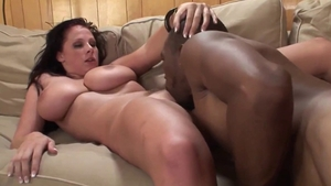 Booty & busty MILF in her lingerie gonzo nailed