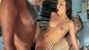 Young babe erotic shared anal HD