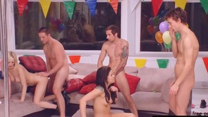 Cherry Torn escorted by Taylor Russo threesome