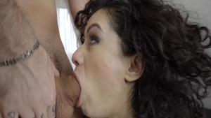 Brunette Stacy Bloom humping