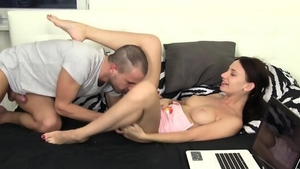 Teen chick goes in for sex