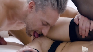 Raw nailing escorted by amazing brunette