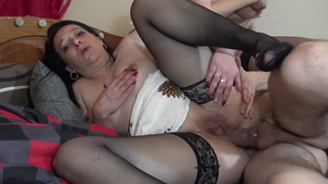 European Sandy Lou has a taste for hardcore plowing hard HD