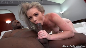 Plowing hard with inked blonde haired Kay Carter