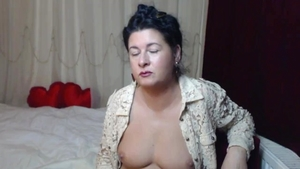 Pussy fucking MILF wearing boots