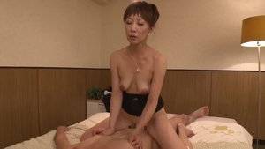 Large tits hairy asian MILF