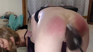Hard pounding along with british blonde haired