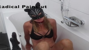 'Drooling, Spitting, Pissing And Squirting Degraded yielding Painslut'