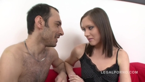 Raw fucking escorted by brunette