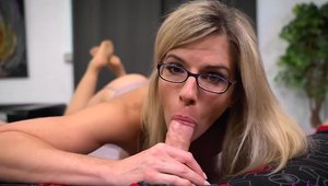 Big boobs blonde haired Cory Chase cumshot HD