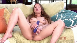 Female Taylor Sands playing with sex toys
