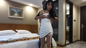 Asian MILF toys action HD