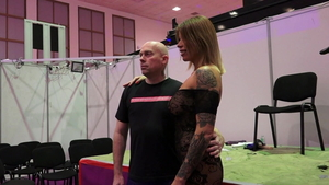 Nailing together with tattooed german pornstar