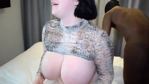 Arabian Harmony Reigns is really chubby BBW