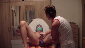 Petite young russian doctor domination smoking in clinic HD