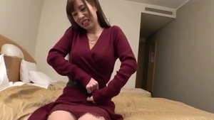 Big boobs young japanese babe creampied