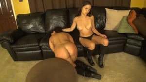 Young Ariel X teen chick catfight porno
