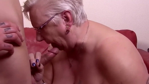 Very hawt young granny rough pussy licking in HD