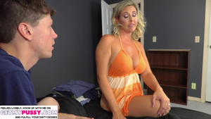 Jayna Woods is so busty cougar