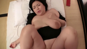 Large boobs asian bride nailed hard in the Tokyo