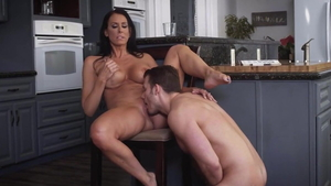 Dick sucking together with Reagan Foxx among Zoey Holloway