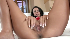 Tight babe softcore pussy fucking flashing in HD