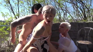 Hottest Kathy White GILF orgasm video