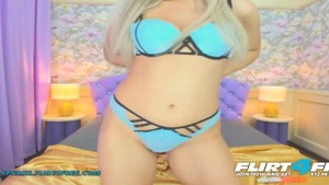 Tight blonde hair receives plowing hard