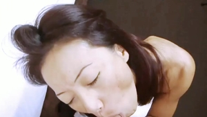 Ass fucked in office among nude asian mature