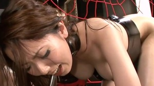 Yui Hatano bends to get fucked
