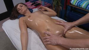 Skinny Lily Carter wants slamming hard