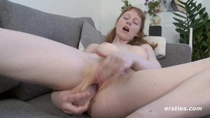 Solo small boobs redhead ass pounded