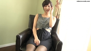 Japanese in tight stockings