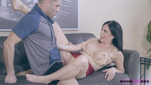 Sexy and huge tits mature rough cowgirl sex