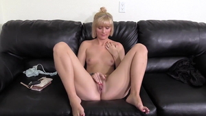 Blonde babe creampie in the farm