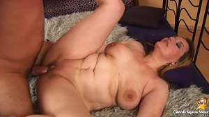 Raw real sex in company with chubby czech babe