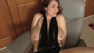 Hard slamming in company with big tits amateur