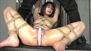 Bondage starring exotic woman asian brunette