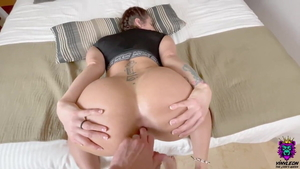 The best sex together with very nice latina blonde hair