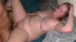 Cumshot escorted by tight mexican amateur