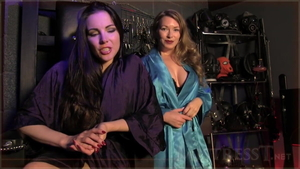 Alexandra Snow escorted by Mistress T fingering in HD