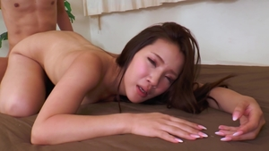 Fucking hard starring hairy asian MILF