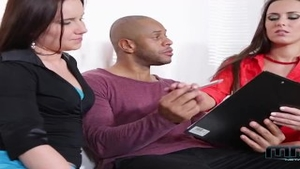 Wendy Moon escorted by Mea Melone fucked anal