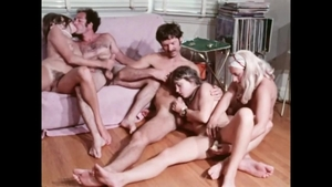 Orgy together with hairy