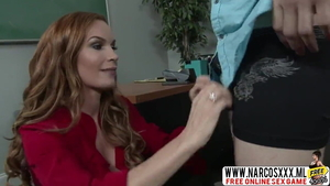 Real fucking escorted by stepmother Diamond Foxxx