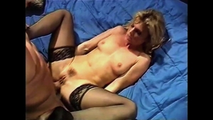 Hard ramming with very cute blonde babe
