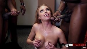 Hawt babe Britney Amber feels in need of sex