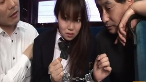 Good fuck sensual japanese schoolgirl in uniform in public