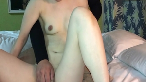 Very hot asian babe receives raw sex