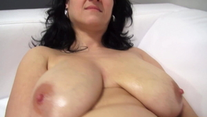 Huge boobs european pawg got fucked hard at the audition
